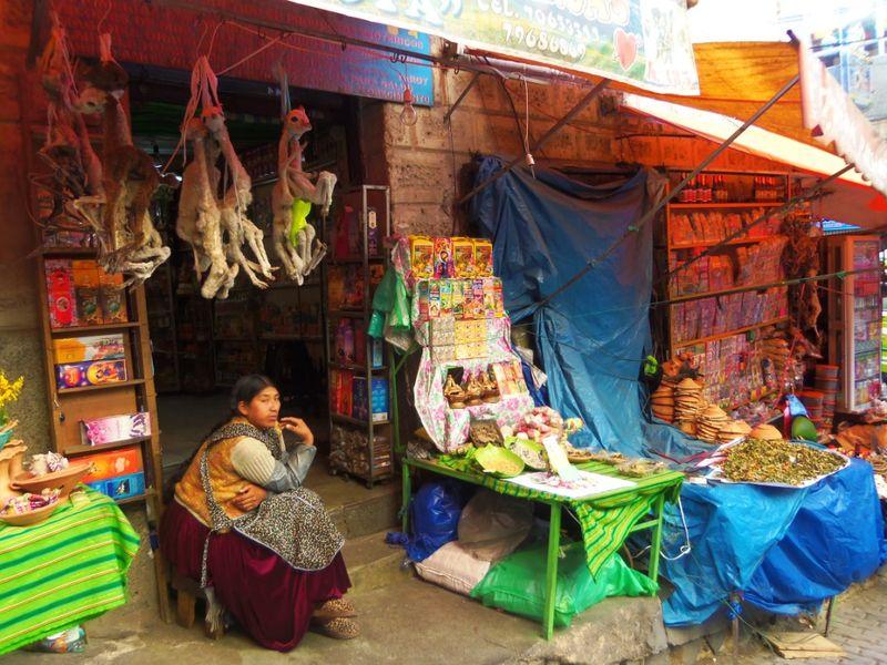 Mercado hechiceria, La Paz, compressed