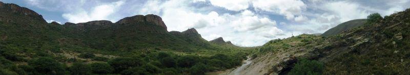 Landscape near Candelaria, compressed
