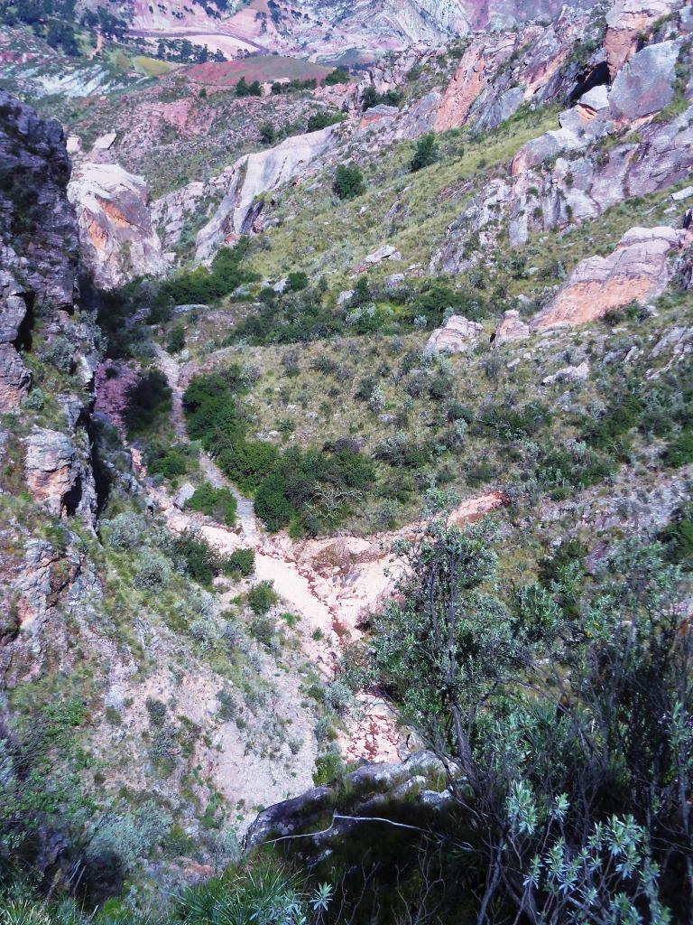 Inca trail, compressed