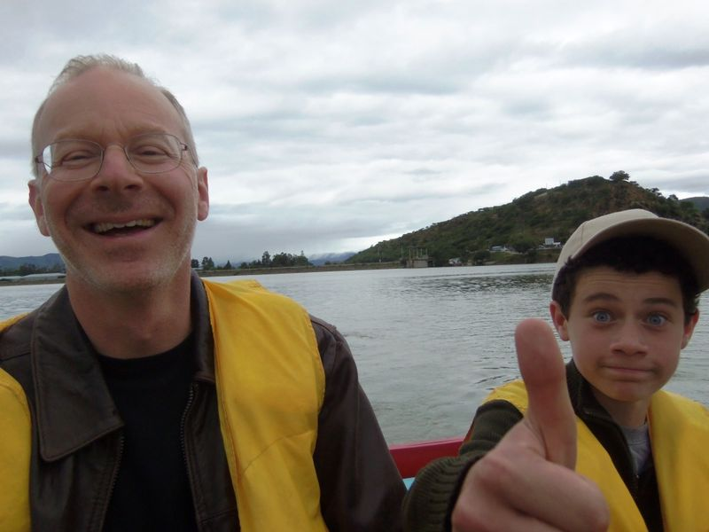 Yuval & jacky in boat, compressed
