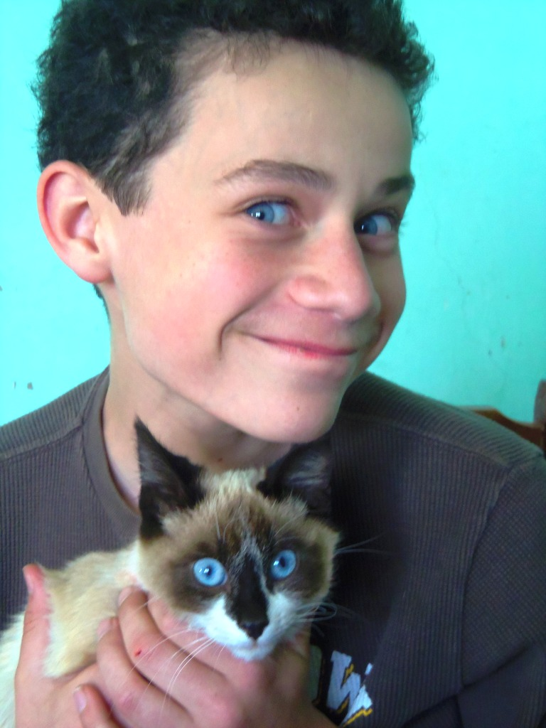 Matching blue eyes! compressed