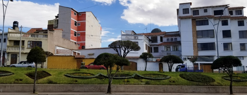 Typical bolivian architecture sucre compressed